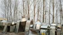 回收二手不锈钢双锥真空干燥机报价