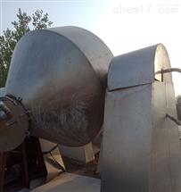 回收急需二手3立方3吨不锈钢双锥回转干燥机
