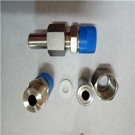 304不锈钢对焊式直通终端活接头