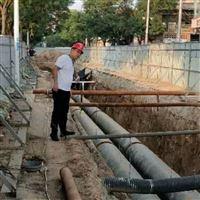 DN500直埋式保溫管熱力管網施工步驟