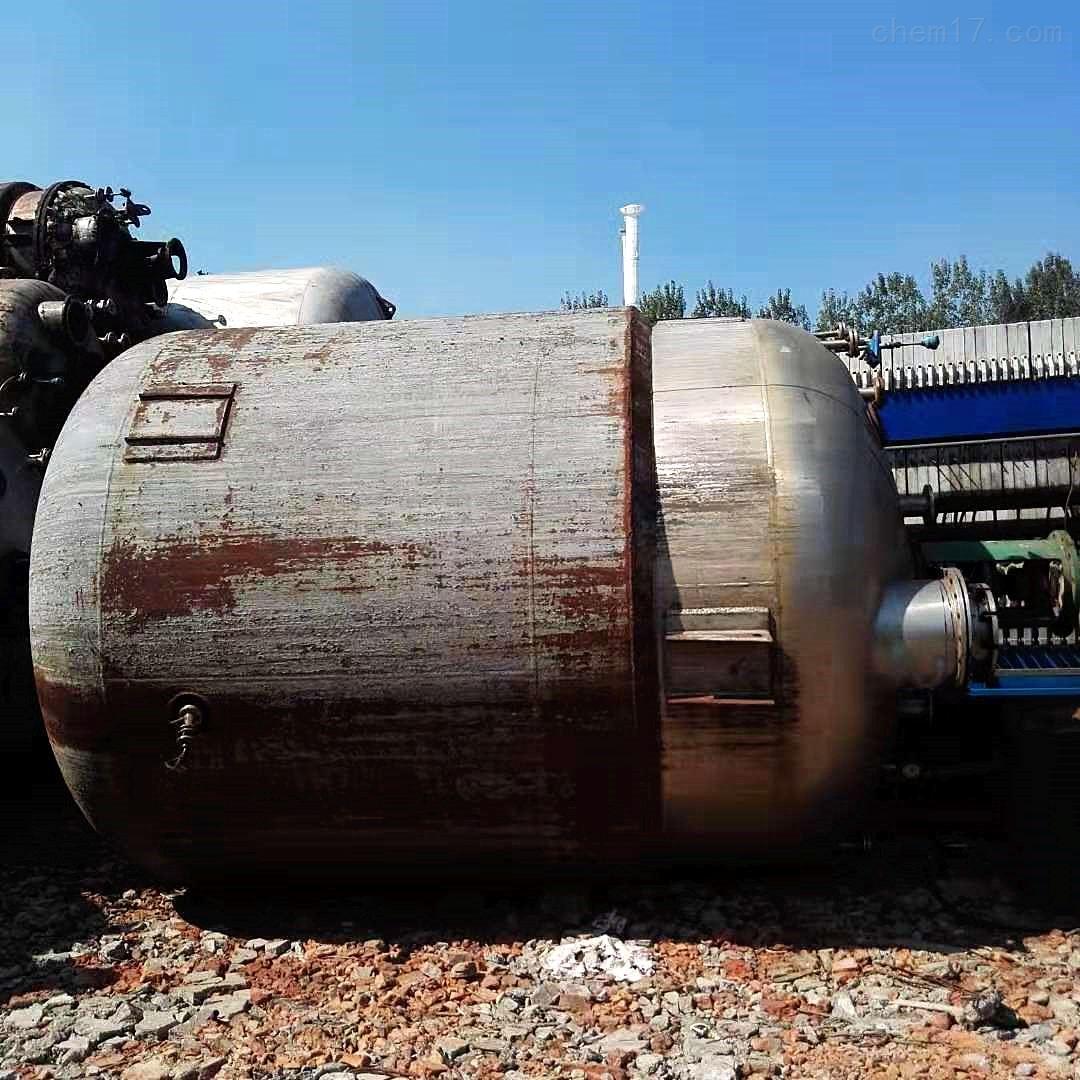 河北出售12000升二手钛材质反应釜定金