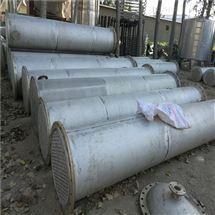二手钛冷凝器现场估价回收