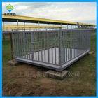 1吨地磅带围栏价格,1.2*1.5m牲畜电子秤