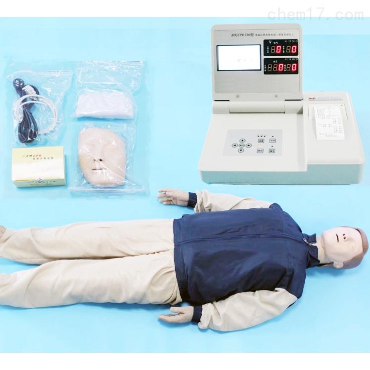 高级电脑心肺复苏模拟人(液晶彩色显示屏)