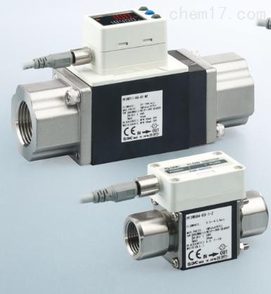 日本SMC水用数字式流量传感器