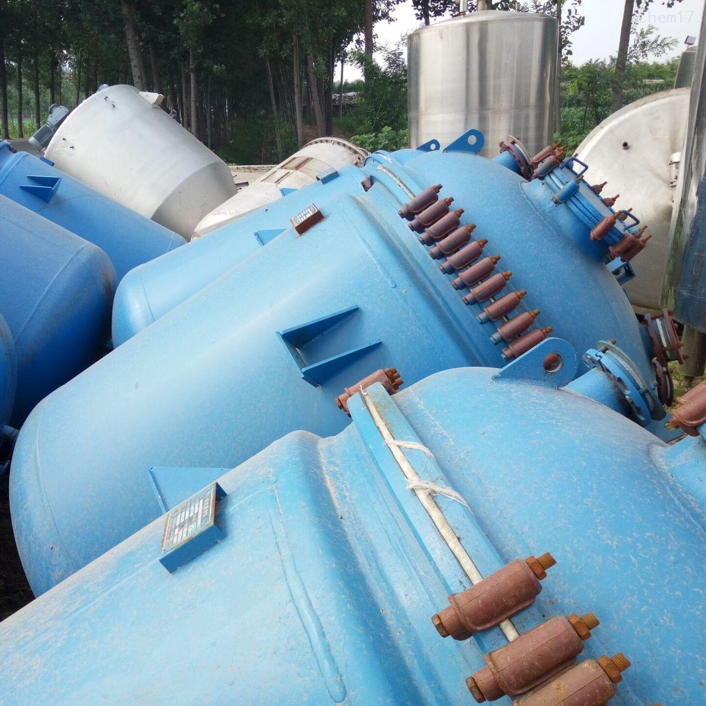 回收闲置二手3吨搪瓷反应釜
