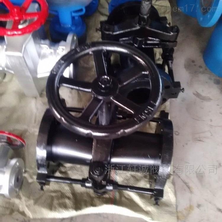 轩诚阀门  气动管夹阀  GJ41X铝合金管夹阀