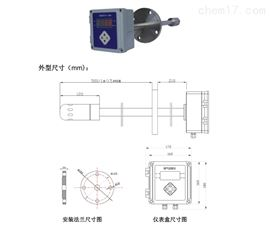 型号:ZRX-29412电容法烟气湿度计