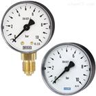 111.10, 111.12德国WAKI威卡波登管压力表,铜合金材质