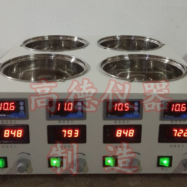 四温磁力搅拌水浴锅