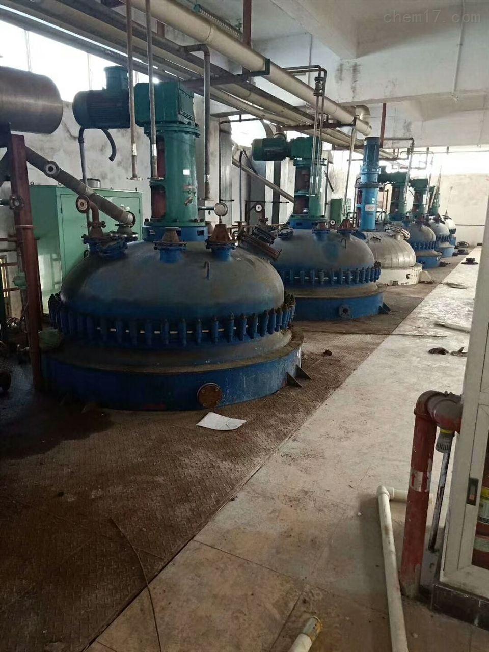 化工厂闲置二手搪瓷反应釜回收价格