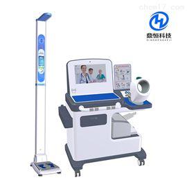 DHM-T100公共卫生多功能健康一体机台式健康体检机