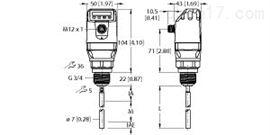 LS-551-0500-LIU22PN8X-H11德国图尔克TURCK液位传感器