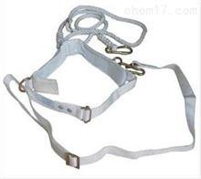 白色单保险安全带