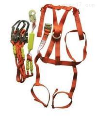 高空作业高空双背加全身带缓冲器和双大钩高空安全带