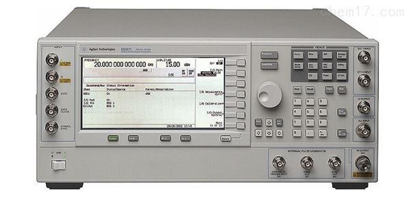 Agilent信号发生器E8267C开不了机维修