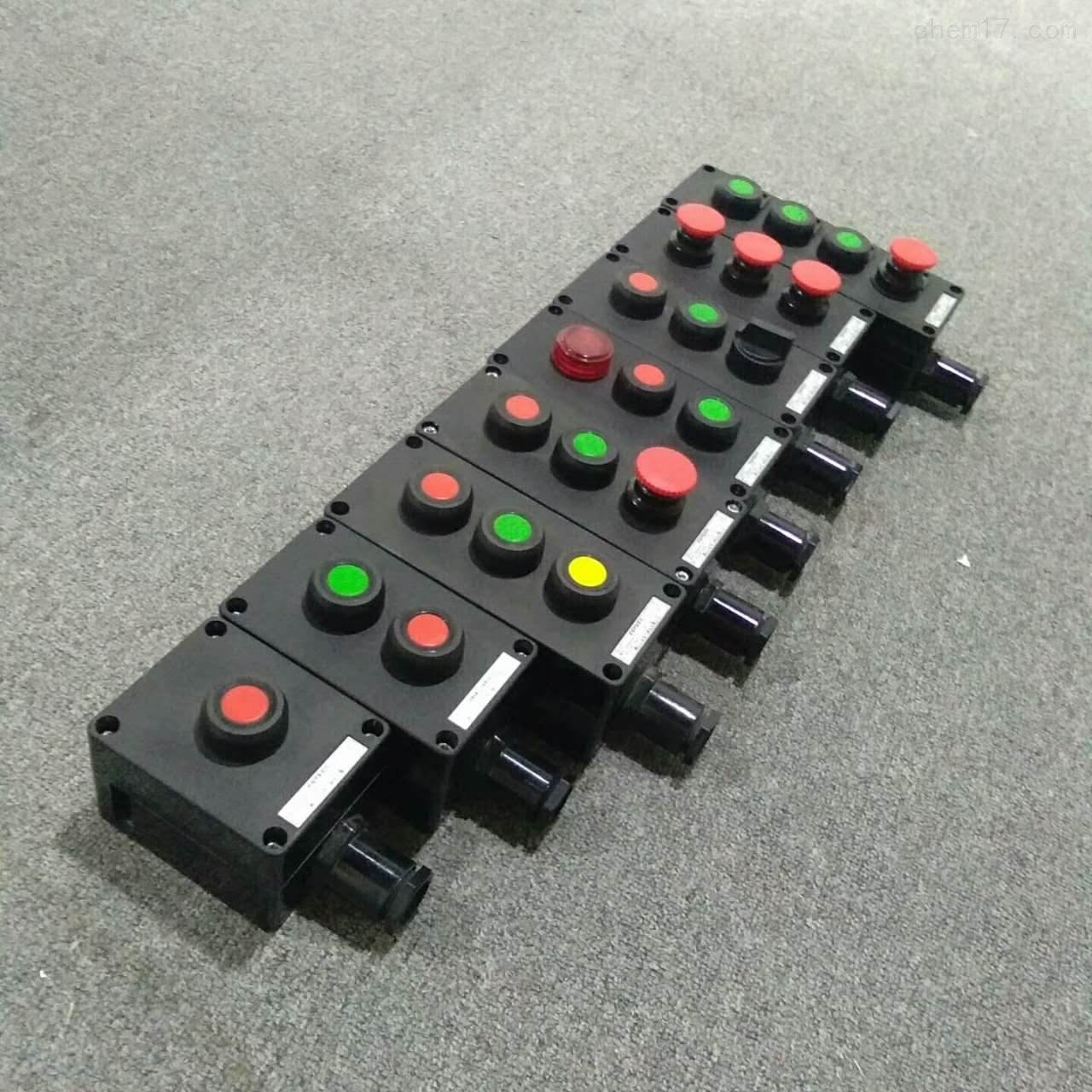 BZA8050-A2K1|10A防爆防腐自复位按钮盒