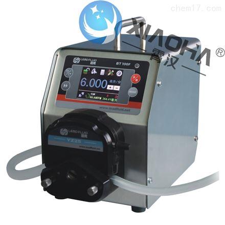BT100F分配型智能蠕动泵YZ15(25)泵头