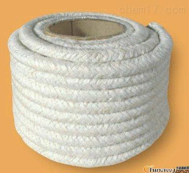 供应不锈钢丝增强型陶瓷纤维扭绳,保温性能好陶瓷纤维绳