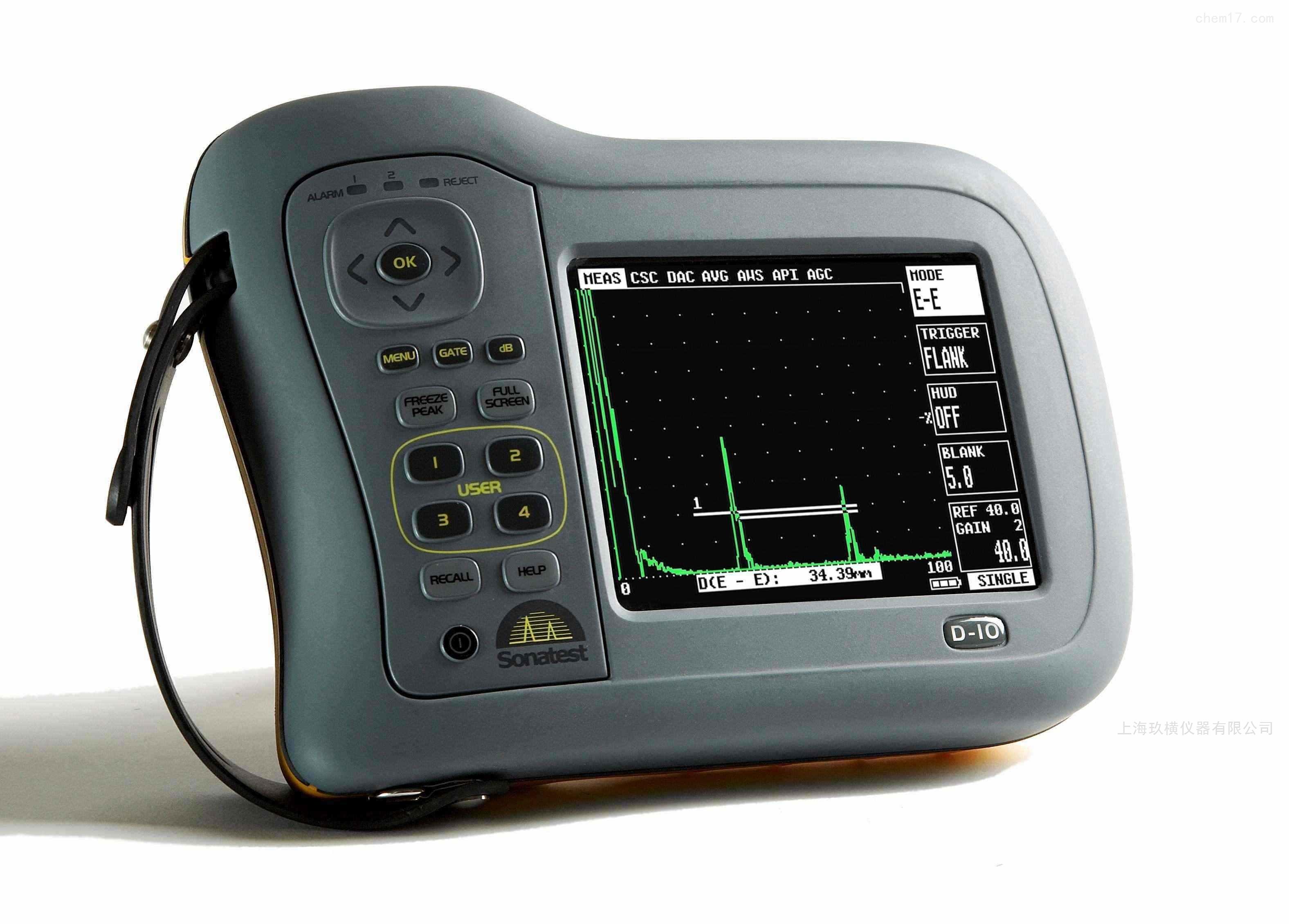 Sitescan D10 / D20 超轻量便携式探伤仪