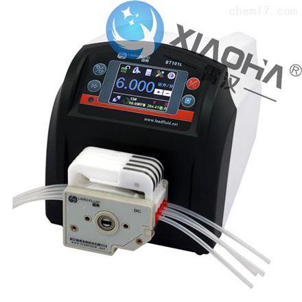BT101L流量型智能蠕动泵DG泵头