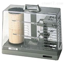 日本佐藤SKSATO自记式温湿度记录仪