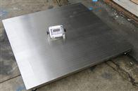 3吨不锈钢304材质防腐蚀电子平台秤