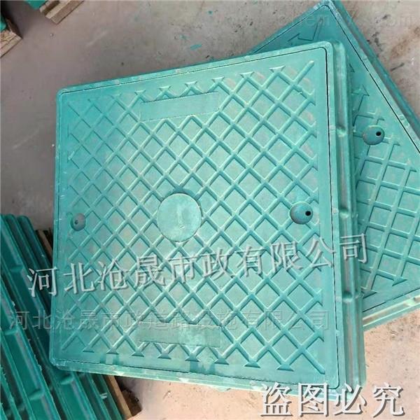 沧州树脂复合井盖——草盆井盖