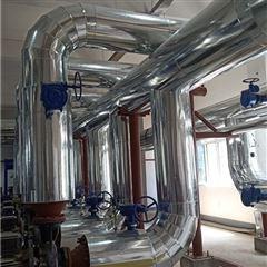 蒸汽管道保温 橡塑外包铝皮安装价格