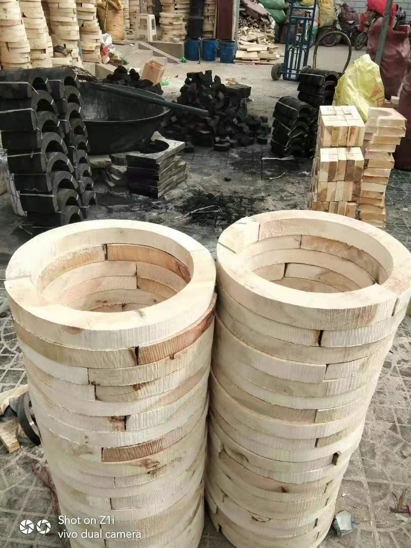 空调木托  防腐管道木托厂家直接发货