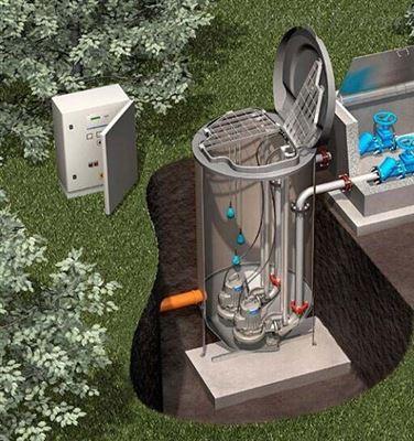 地埋式一体化预制泵站说明书