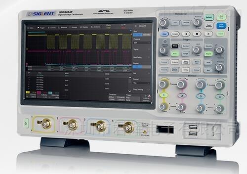 鼎阳示波器SDS5104X,4端口500M
