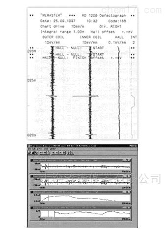 MD-120B钢丝绳检测软件
