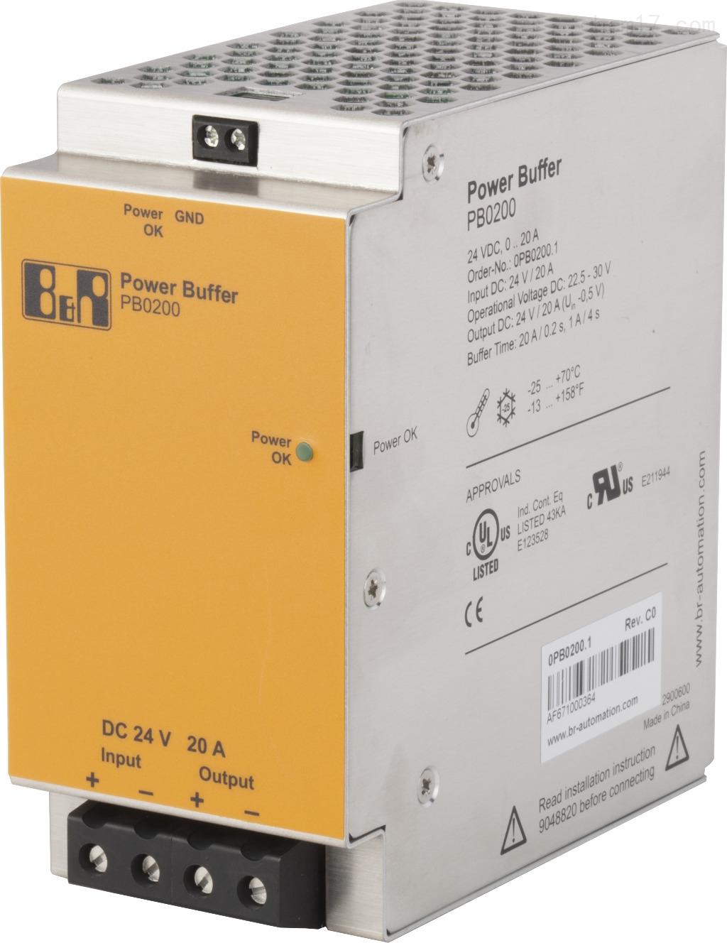 贝加莱电源缓冲模块