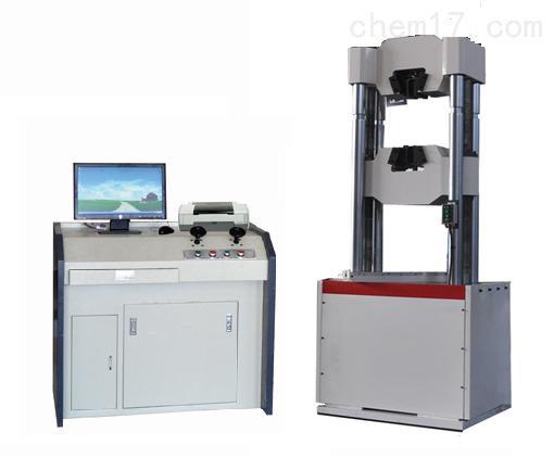 微機屏顯式液壓萬能試驗機