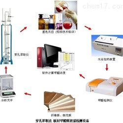 德駿儀器板材甲醛檢測--刨花板、纖維板