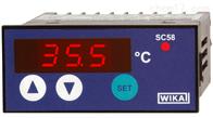 型号 SC58德国威卡WIKA带数显仪的温度控制器