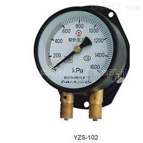 YZS-153B双针压力表