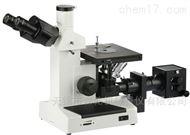 三目倒置金相显微镜