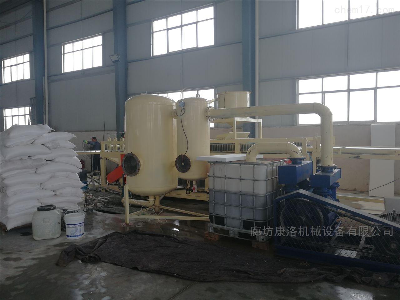 大型A级水泥硅质聚苯板设备生产线大城
