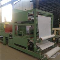 KL-600新型岩棉板包装机与硅质板热缩机包装效果