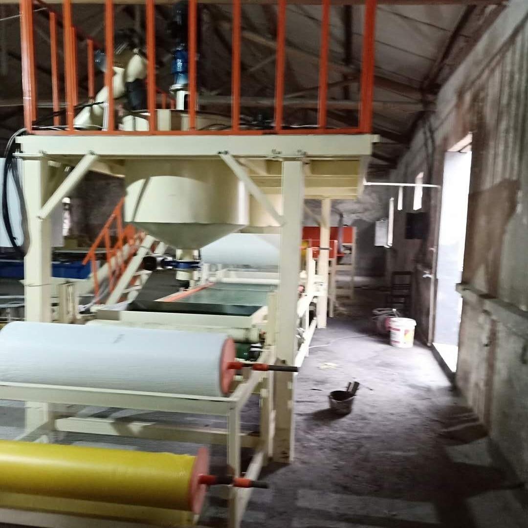 保温岩棉复合板生产设备