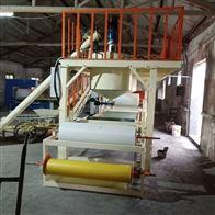 KL-56小型岩棉复合板设备的生产过程