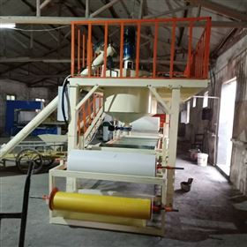 KL-56岩棉保温聚苯板复合岩棉板设备生产操作过程