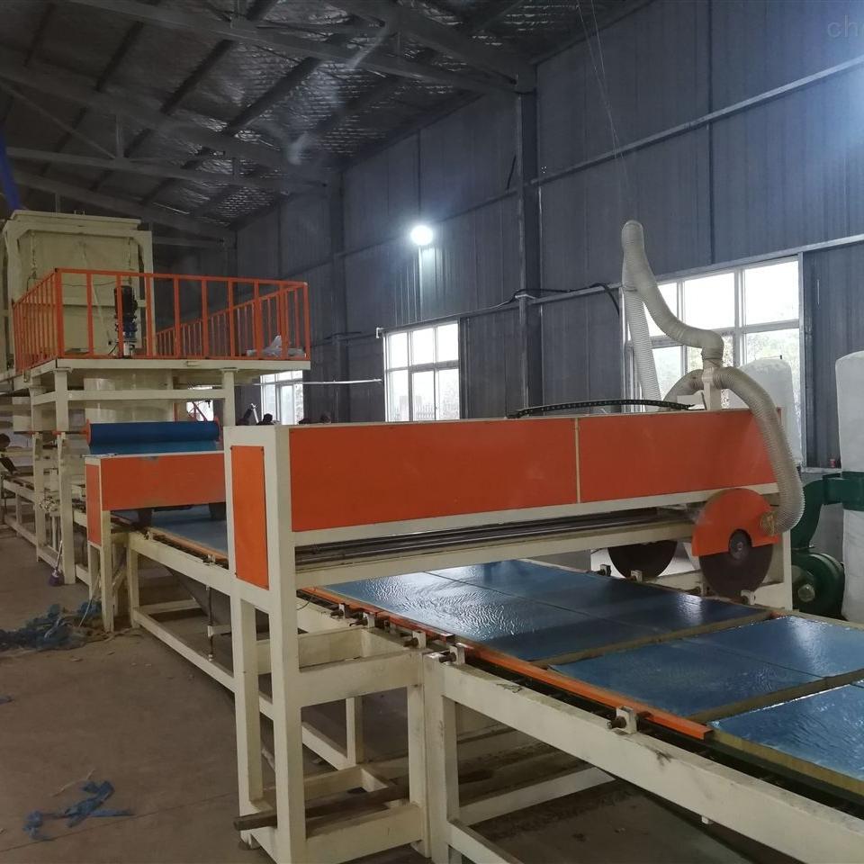 砂浆复合生产线机制砂浆岩棉复合板设备厂家