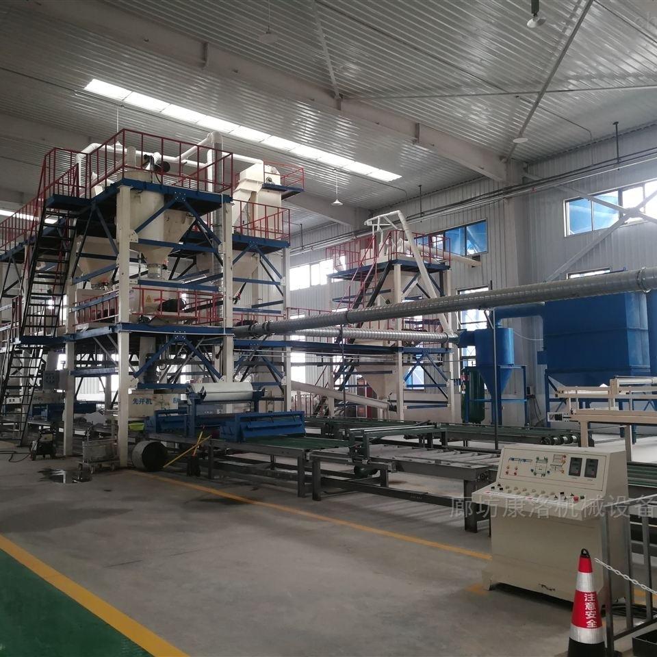 FS免拆模板设备复合保温板生产线厂家