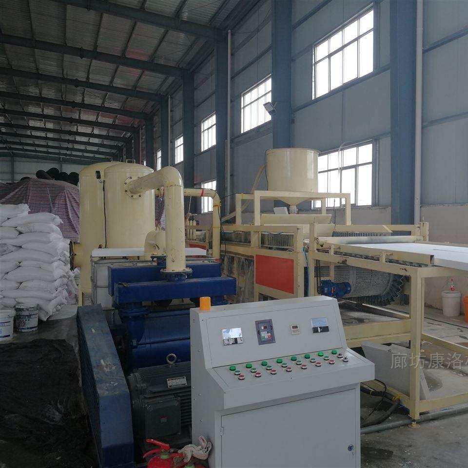 硅质水泥外墙板生产设备硅岩聚苯板设备订单