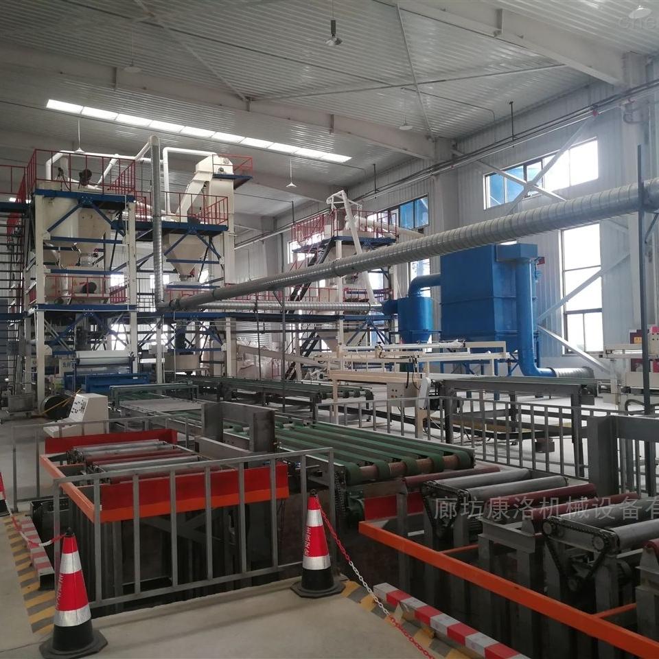免拆模保温板生产线建筑设备
