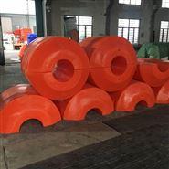 8寸管道浮体夹水管/抽砂船用/两半片浮体