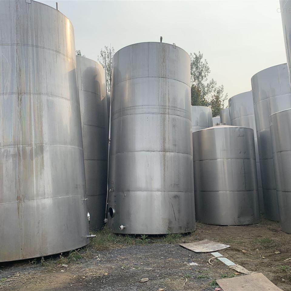 高价回收二手316L不锈钢储罐